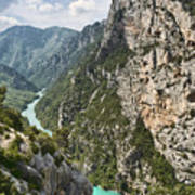Gorge Du Verdon Art Print