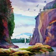 Gorge Entrance View Art Print