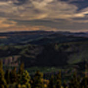 Gorge Sunset Art Print