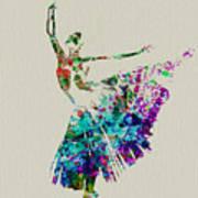 Gorgeous Ballerina Art Print by Naxart Studio