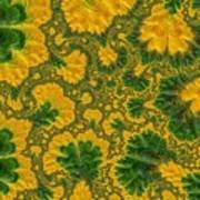Gorgeous Fabric Design - Series Number Ten Art Print