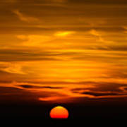Gorgeous Sunset Art Print