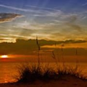 Gorgeous Sunset Art Print by Melanie Viola