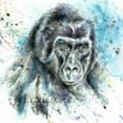 Gorila2 Art Print