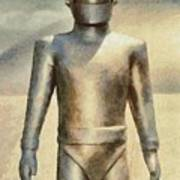Gort From The Day The Earth Stood Still Art Print