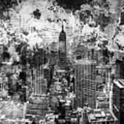 Gotham Castles Art Print