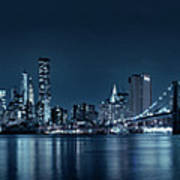 Gotham City Skyline Art Print