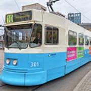 Gothenburg City Tram Art Print