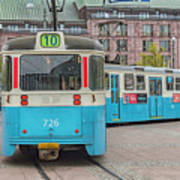 Gothenburg Public Tram Art Print