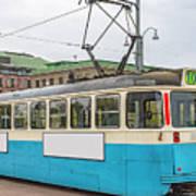 Gothenburg Tram Car Art Print