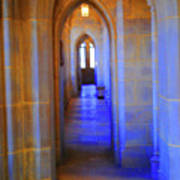 Gothic Arch Hall Art Print