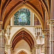 Gothic Arches - Holy Name Cathedral - Chicago Art Print