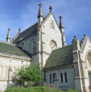 Gothic Chapel, Indianapolis, Indiana Art Print