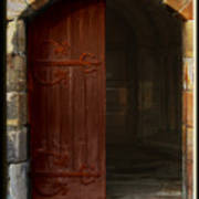 Gothic Church Door Art Print
