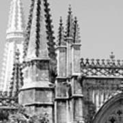 Gothic Detail  Art Print
