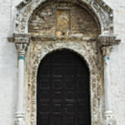 Gothic Entrance Art Print