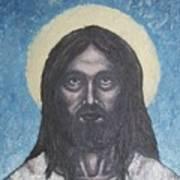 Gothic Jesus Art Print