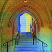 Gothic Steps Art Print