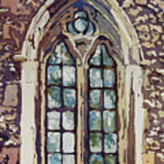 Gothic Window Art Print