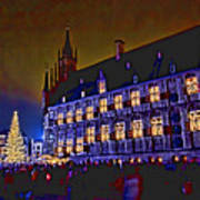 Gouda By Candlelight-1 Art Print