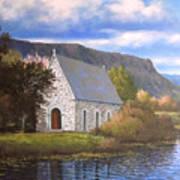 Gougane Barra Cork Art Print