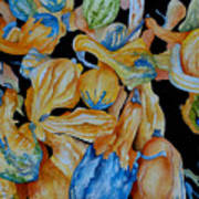 Gourds Galore Art Print
