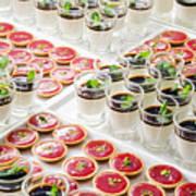 Gourmet Desserts Art Print