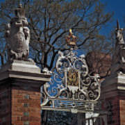 Governor's Palace Gate Detail Art Print