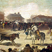 Goya: Bullfight, 1793 Art Print