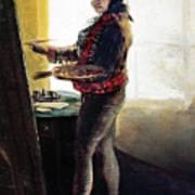 Goya: Self-portrait Art Print