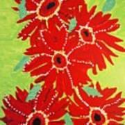 Grace Flowers Art Print