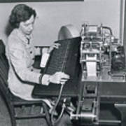 Grace Hopper, American Computer Scientist Art Print