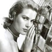 Grace Kelly, 1954 Art Print by Everett