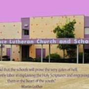 Grace Lutheran School Art Print