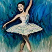 Graceful Dance Art Print