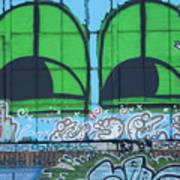 Graffiti #5781 Art Print