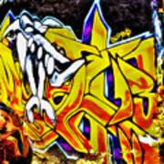 Graffiti Alley I Art Print