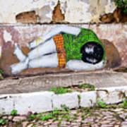 Graffiti Art Lencois Brazil Art Print