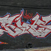 Graffiti Art Nyc 26 Art Print