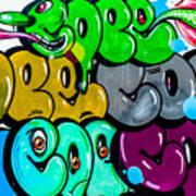 Graffiti Art Nyc 8 Art Print