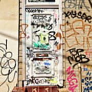 Graffiti Doorway New Orleans Art Print