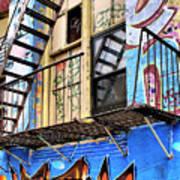 Graffiti Fire Art Print