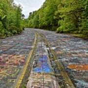 Graffiti Highway, Facing North Art Print