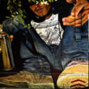 Graffiti Man Art Print