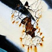 Graffiti Texture II Art Print