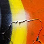 Graffiti Texture Iv Print by Ray Laskowitz - Printscapes
