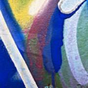 Graffiti Texture V Art Print