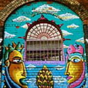 Graffiti Window Art Print