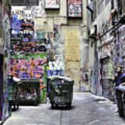 Grafitti Alley Art Print