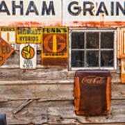 Graham Grain Company Art Print